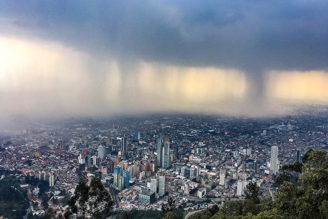 famous things about colombia: most annual rainfall
