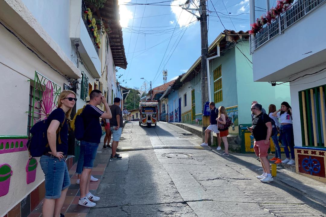group tour for introverts in Colombia