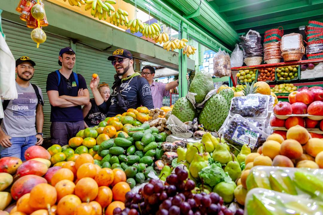 interesting facts about colombia: exotic fruits