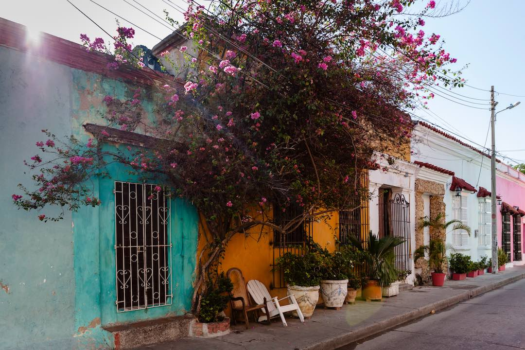 interesting facts about colombia: cartagena