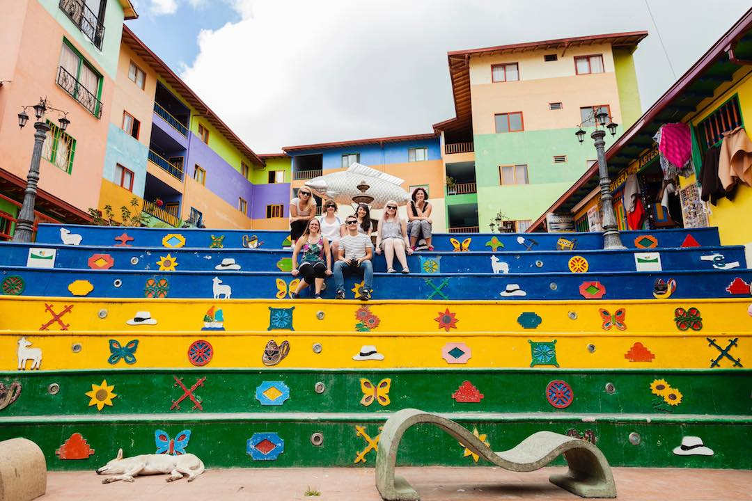most beautiful towns in Colombia: Guatape