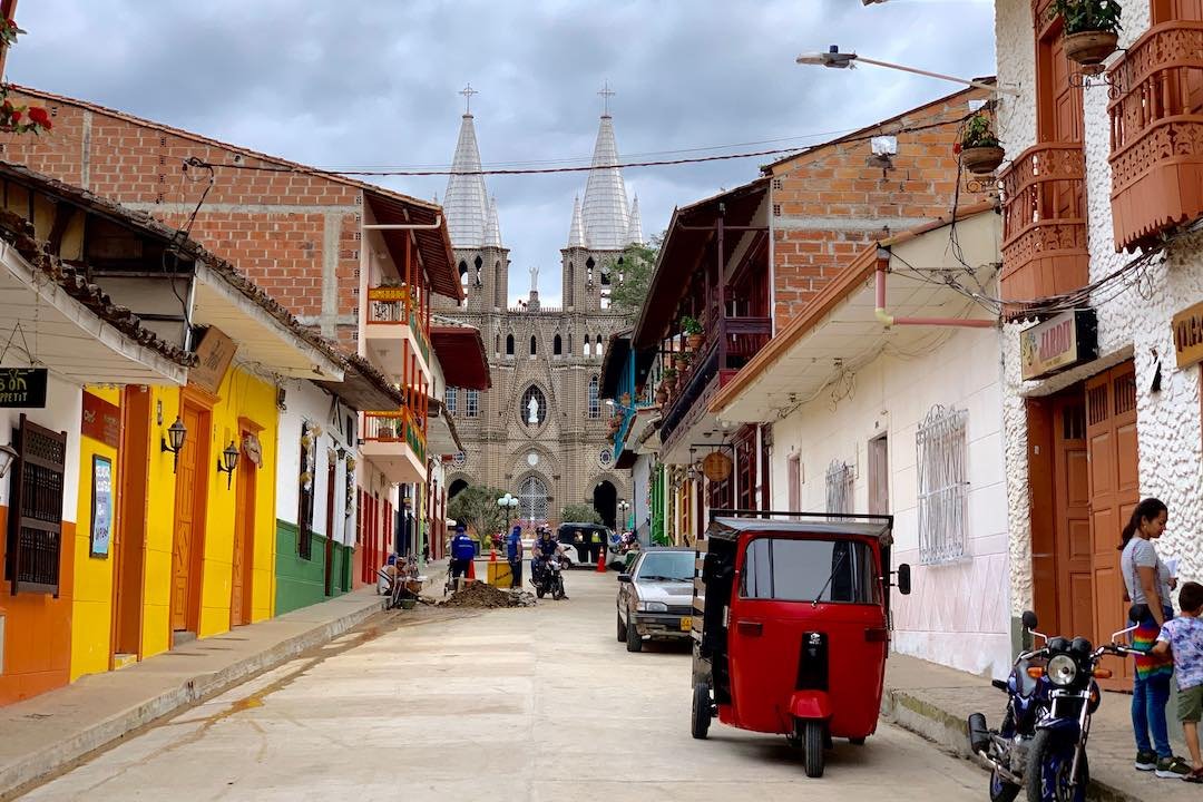 most beautiful towns in Colombia: Jardin