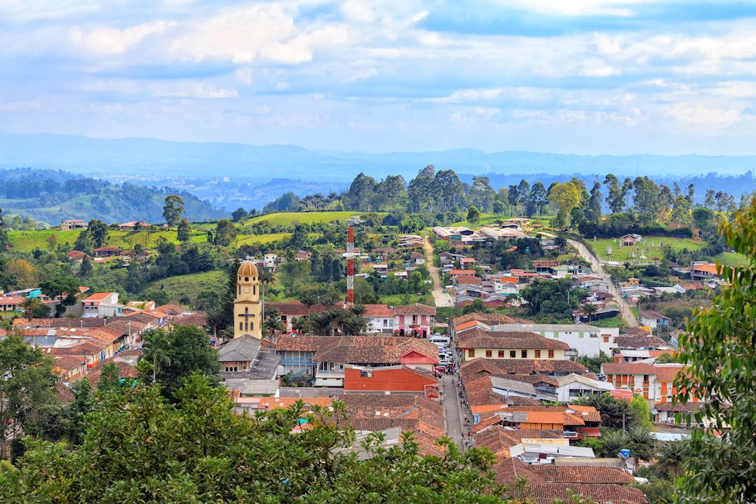 most beautiful towns in Colombia: Salento