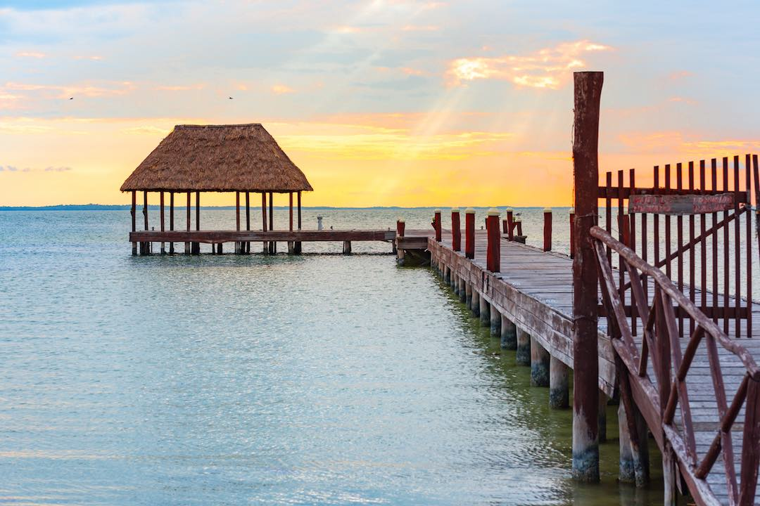 solo travel to Mexico Isla Holbox