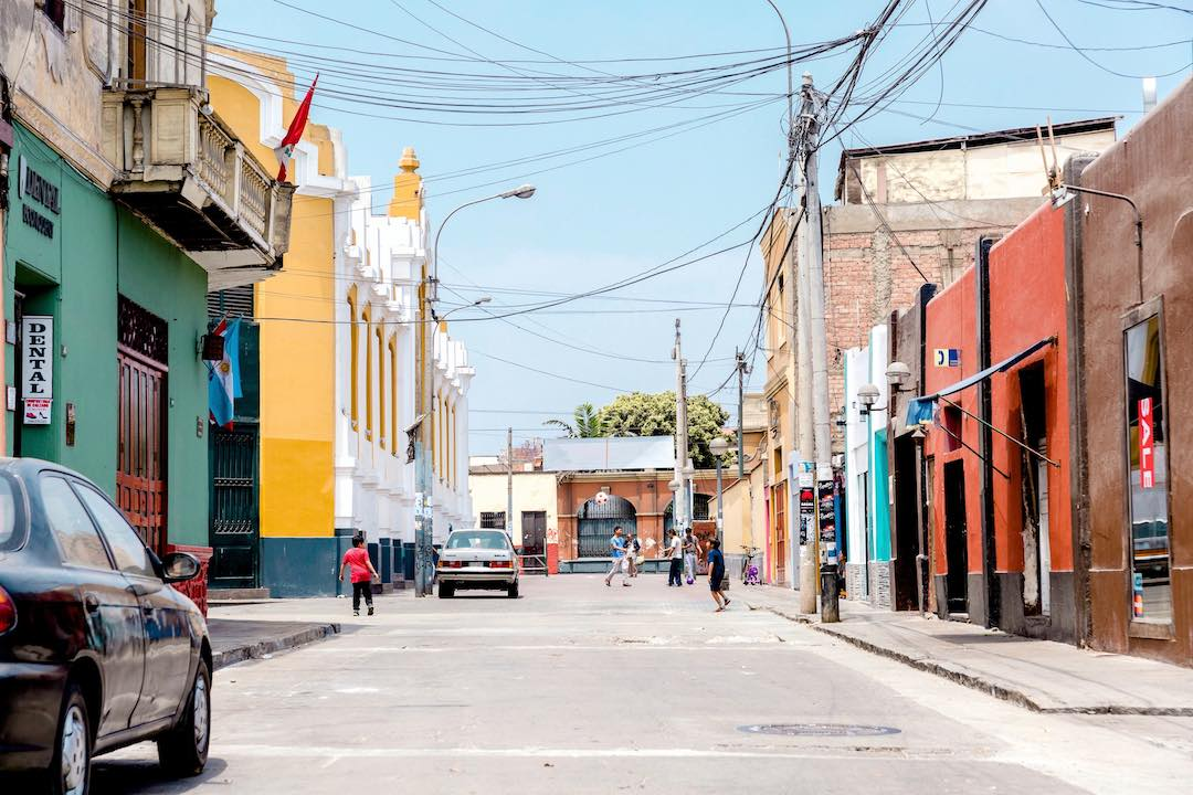 Solo travel to lima, peru in latin america