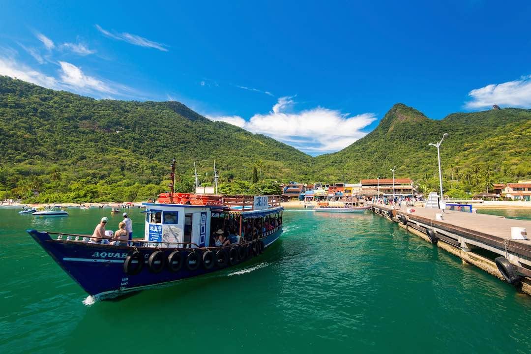 Solo travel in latin america, ilha grande, brazil