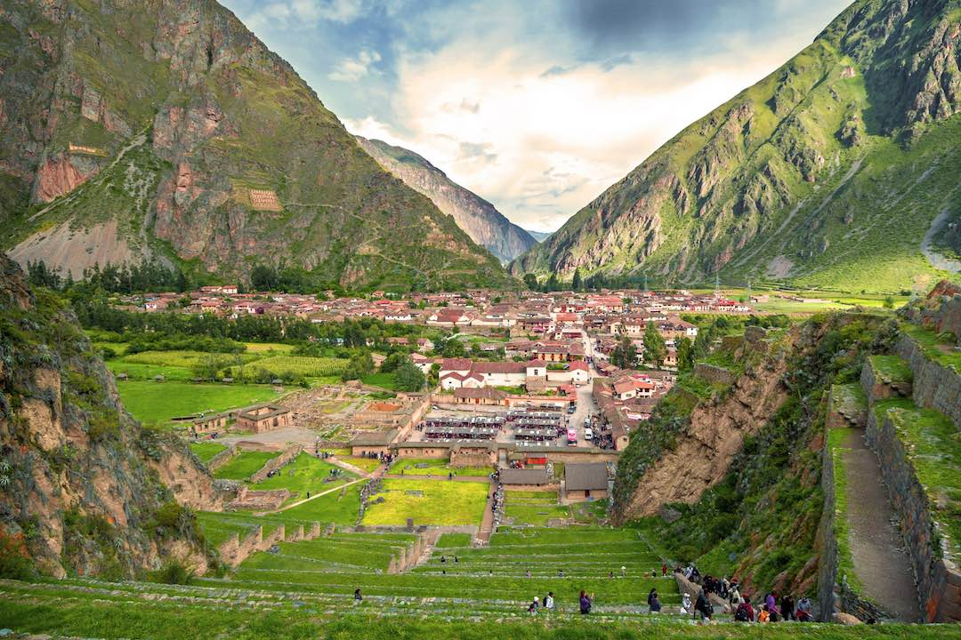 Travelling alone through Sacred Valley in Peru